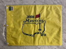 2006 Masters EMBROIDERED Golf Pin Flag. Won by Phil Mickelson. In Original Bag