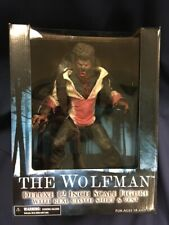 "The Wolfman Universal Monsters Werewolf Benicio del Toro Mezco Toyz 12"" Figure"