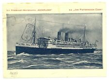 NEDERLAND S.M.N. 1925 DEEL POSTBLAD -JAN PIETERSZOON COEN -