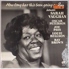 SARAH VAUGHAN: How Long Has this Been Going on? Ray BROWN Pablo JAZZ LP