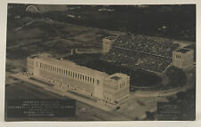 VTG1924 University Of Illinois Homecoming Memorial Stadium RPPC Photo Postcard
