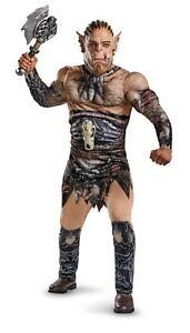 Adult Men's World of Warcraft Durotan Son of Garad Muscle Torso Cosplay Costume