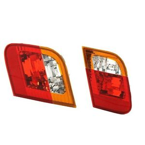 For BMW E46 325i 325xi 330i 330xi 02-05 Rear Left & Right Inner Tail Lights