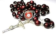 Isabella of France cherry Relic rosary Patron of helping the sick and needy