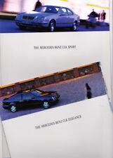 1997 MERCEDES BENZ W208 CLK SPORT & ELEGANCE 10p Brochure in English 200 230 320