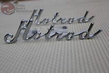Custom Classic Vintage Car Truck Hotrod Script Fender Quarter Panel Emblems