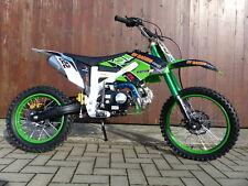 125ccm Dirtbike Pitbike PRO 612 4Takt 4 Gang 17/14 Enduro Cross Motorrad Grün