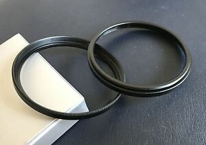 58-58 Step Spacer tube filter extension ring Adapter male female 58mm Pack of 2