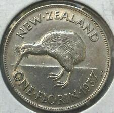 1937 New Zealand Florin - Nice