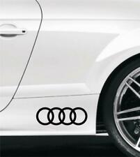 AUTOCOLLANTS STICKERS AUDI ORIGINAUX A3 A4 A5 A6 A7 A8 S3 S4 S5 S6 S7 S8 TT 20CM
