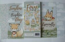 """Hunkydory 18 DL toppers from """"Foxy Fun"""" Collection see pictures see description"""