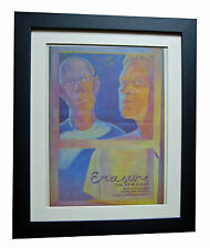 ERASURE+Sometimes+Respect+POSTER+AD+RARE ORIGINAL 1995+FRAMED+FAST GLOBAL SHIP