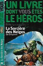 UN LIVRE DONT VOUS ÊTES LE HEROS--DEFIS FANTASTIQUES/9--IAN LIVINGSTONE
