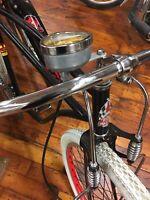 Bicycle Speedometer Stewart Warner Complete ALL METAL USA SUPER DEAL