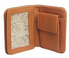 Small Size Faux Leather Wallet for men - Brown