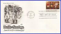 USA5 #1728 U/A ARTCRAFT FDC   Surrender at Saratoga