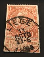 BELGIUM - 1893 - 10C Stamp (No2)
