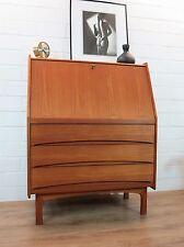 Teak Sekretär Kommode Danish Denmark Writing Cabinet Vintage Modern 60s 60er 70s