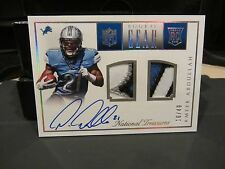 National Treasures Rookie Gear Autograph Jersey Lions Ameer Abdullah 16/49 2015