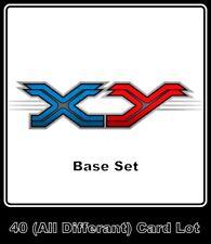 40 XY Base Set Pokemon Cards (No Duplicates) - NM-Mint **GamerzSphere**