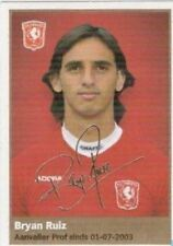 AH 2009/2010 Panini Like sticker 210 Bryan Ruiz FC Twente Enschede