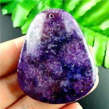 M5XY243  Beautiful Purple  Campanulate Purple Lepidolite Pendant BeadRL