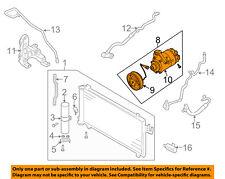 Infiniti NISSAN OEM 04-07 G35-A/C AC Compressor 92600AM80A