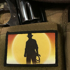 Indiana Jones Movie Morale Patch Tactical Military USA Hook Badge Army Flag