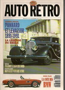 AUTO RETRO 135 100 ANS PANHARD LEVASSOR TALBOT LAGO RECORD RENAULT VIVAQUATRE