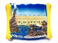 Schloss Herrenchiemsee Bayern Magnet Poly 6,5 cm Germany Souvenir