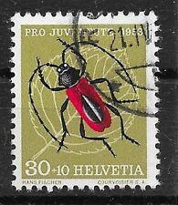 SCHWEIZ/ Pro Juventute 1953-Käfer MiNr 591 o