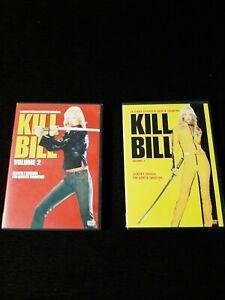 DVD PELICULAS KILL BILL VOLUMEN 1 + 2 EN ESPAÑOL