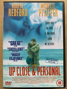 Up Close and Personal DVD 1996 Romantic Drama Movie w/ Redford + Pfeiffer