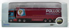 Oxford Diecast 1/76 Scale 76MB002 Mercedes MP4 GSC Actros Curtainside - Pollock