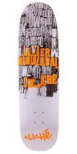 "Cliche Javier Mendizabal Guttenberg Skateboard Deck 8.5"" - New"
