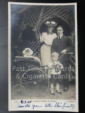 Mr George Robey & Family Portrait and Permbulator (Sir George Edward Wade) 1905