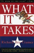 Vintage 1st Ed 1993 What It Takes The Way to the White House Richard Ben Cramer