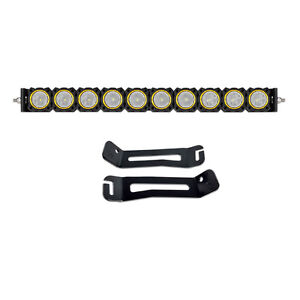 KC Flex 20 inch LED Behind Grille Mount Light Bar System Toyota 4Runner 14-18