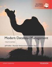 Modern Database Management by Ramesh Venkataraman, Jeffrey A. Hoffer, Heikki Topi (Paperback, 2016)