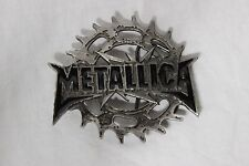 Metallica!!!!!!!!!  LARGE belt Buckle!!!! Very cool!