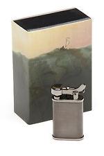 Kiribi Kabuto Short Black Nickel Pipe Lighter