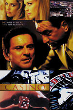 Casino (1995) Robert De Niro mafia movie poster print 3