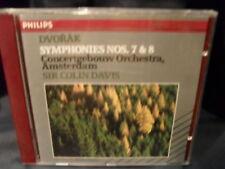 A. Dvorak-Symphonies nos. 7 & 8-Sir Colin Davis/Concertgebouw Orchestra AMS.