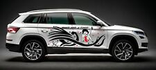 BETTY BOOP DECAL w/ TRIBAL DESIGN GRAPHIC VINYL FOR SIDE OF CAR