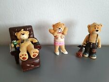 BAD TASTE BEARS X 3 FUN NAUGHTY GIFT GOOD CONDITION