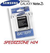 BATTERIA ORIGINALE SAMSUNG GALAXY NOTE TRE 3 III N9000 SM-N9005 EB-B800BE NUOVA