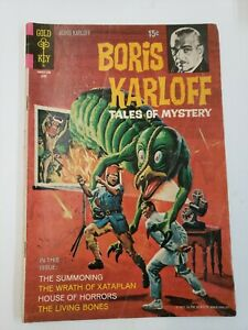Boris Karloff Tales of Mystery #35 (1971) VG 4.0 Gold Key Comics!