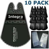 10Pcs Round Universal Blade for Fein & Ridgid Oscillating ECut Multi Tool Saw