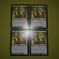 Wolf-Skull Shaman x4 Morningtide 4x Playset Magic the Gathering MTG