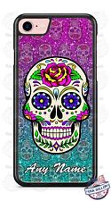 Halloween Calavera Sugar Skull Phone Case Cover Fits iPhone Samsung LG Google